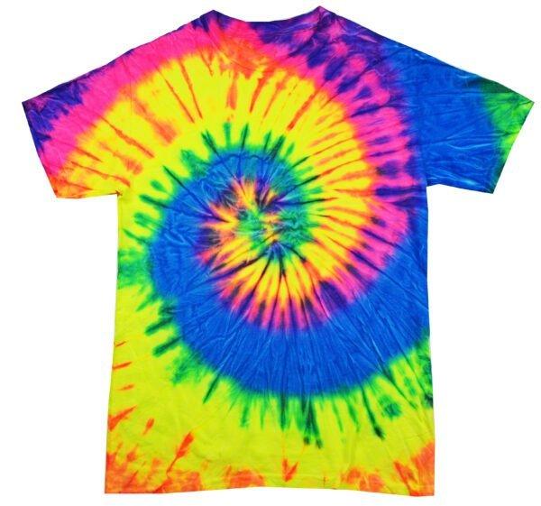 YTD Neon Rainbow - Tie Dye Shirt Shack