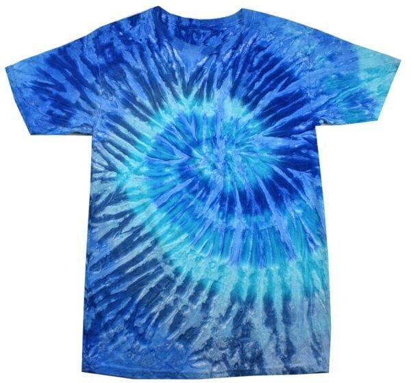 TD Blue Jerry - Tie Dye Shirt Shack
