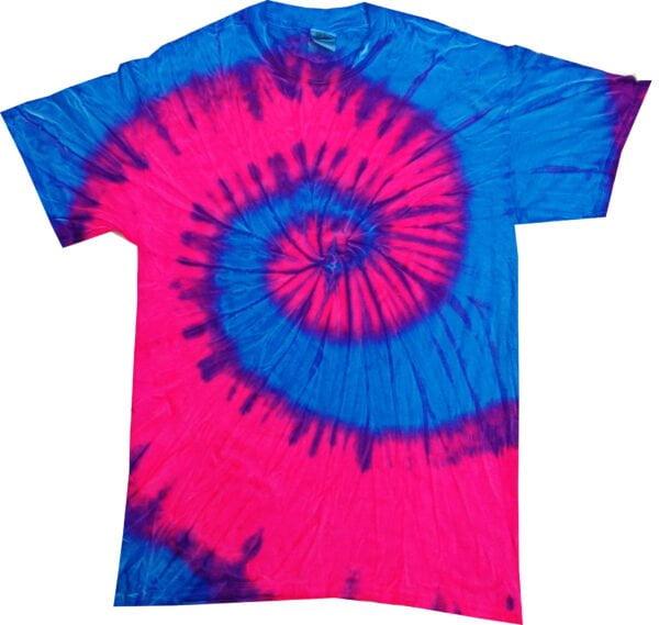 TD Flo. Blue & Pink - Tie Dye Shirt Shack
