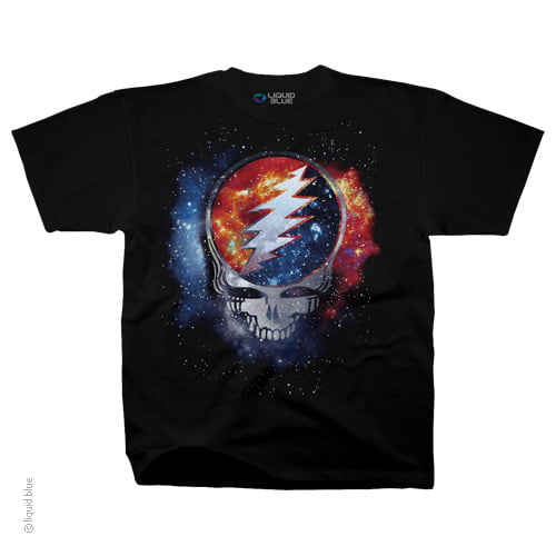 Grateful Dead Cosmic Stealie - Tie Dye Shirt Shack