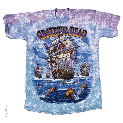 Grateful Dead Ship of Fools - Tie Dye Shirt Shack