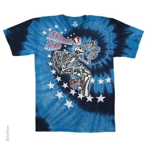 Grateful Dead Uncle Sam I Am - Tie Dye Shirt Shack