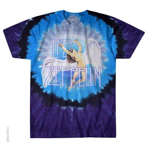 Led Zepplin Swan Song Tie-Dye - Tie Dye Shirt Shack