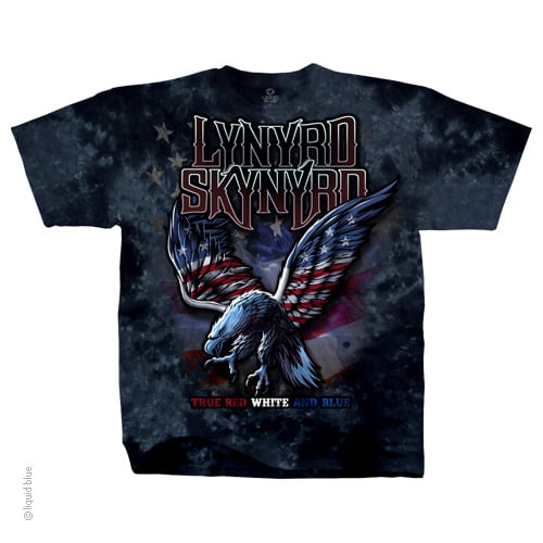 Lynyrd Skynyrd True Red, White & Blue Shirt