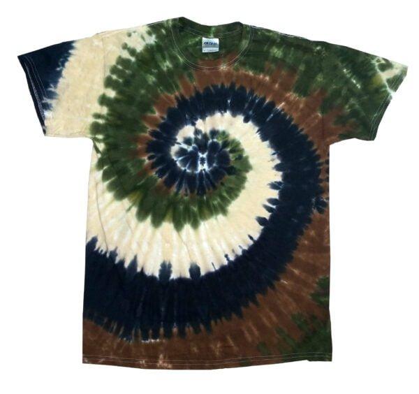 TD Camo Swirl - Tie Dye Shirt Shack