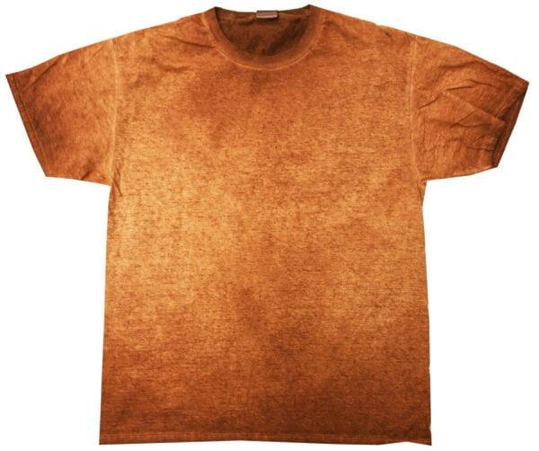 OIL -Orange - Tie Dye Shirt Shack