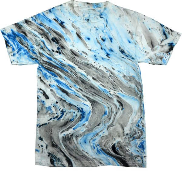 TD Marble - Blue Tiger - Tie Dye Shirt Shack
