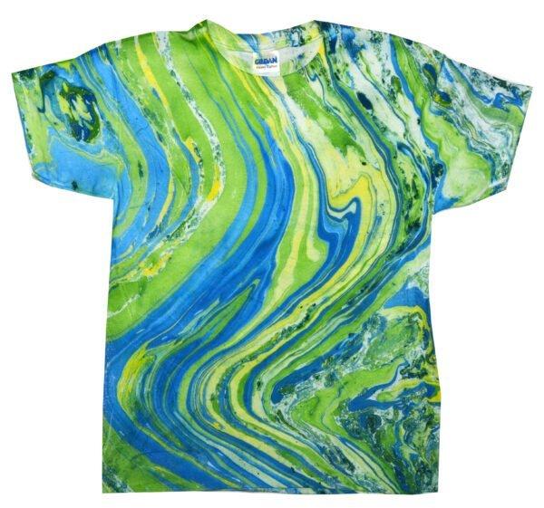 TD Marble Lime - Tie Dye Shirt Shack