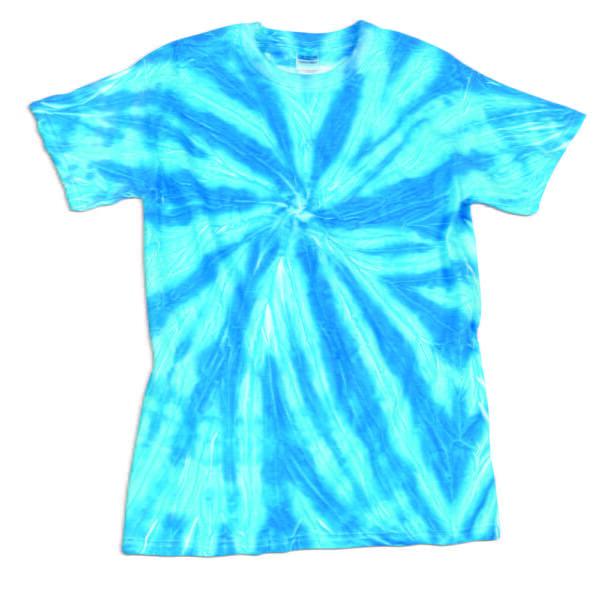 TD Neon Spiral Blue - Tie Dye Shirt Shack