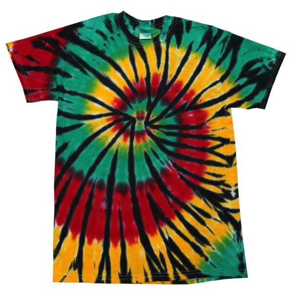 TD Rasta Web - Tie Dye Shirt Shack