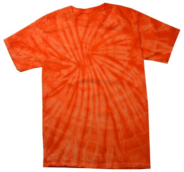 TD Spider Orange - Tie Dye Shirt Shack