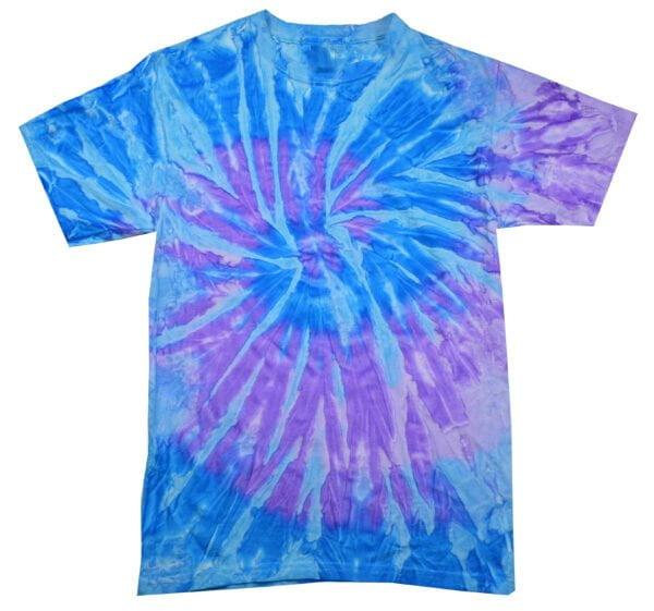TD Spiral Lavender Blue - Tie Dye Shirt Shack