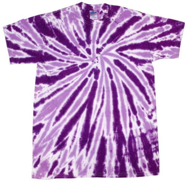 TD Twist Purple - Tie Dye Shirt Shack